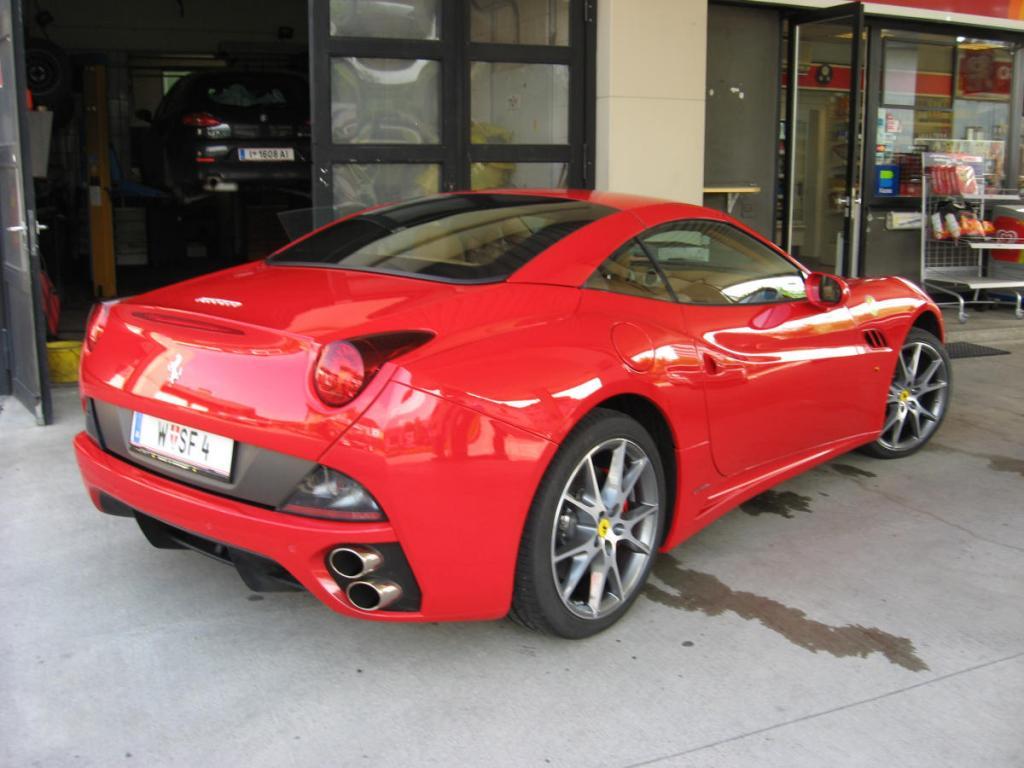 Ein Tag im Ferrari California