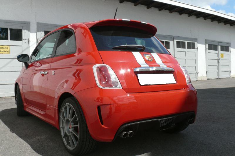 Fiat 500 Abarth limited edition