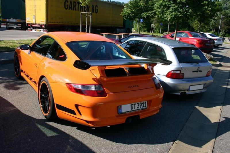 Porsche 997 GT3 RS und BMW Z3 Coupé 2.8