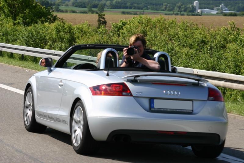"""Audi TT Roadster """"Fotografen-Mietwagen-Schlurre"""""""