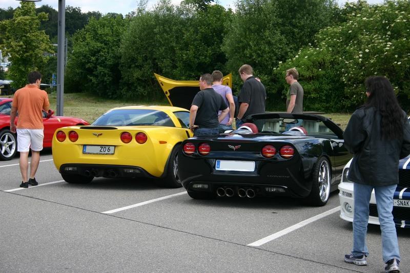 Corvette Z06 und C6 Cabrio