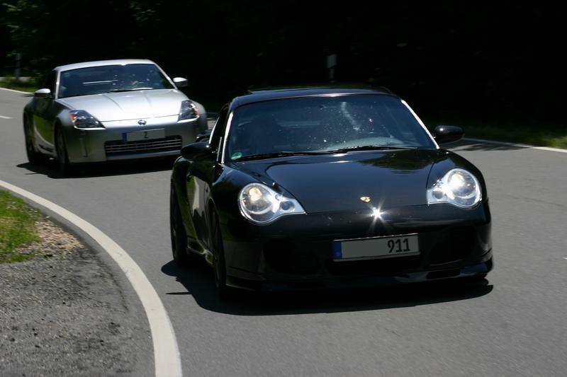 Porsche 996 Turbo und Nissan 350Z