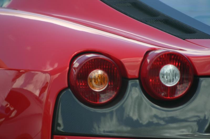 Detail am Ferrari F430 Scuderia