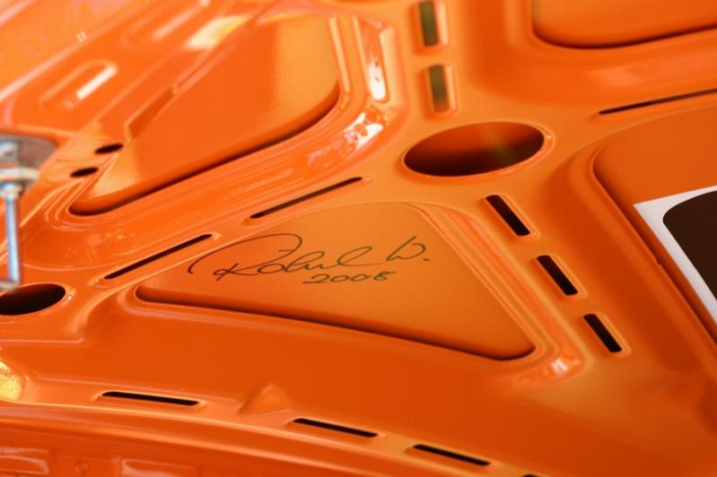 Detail am Porsche 997 GT3 RS