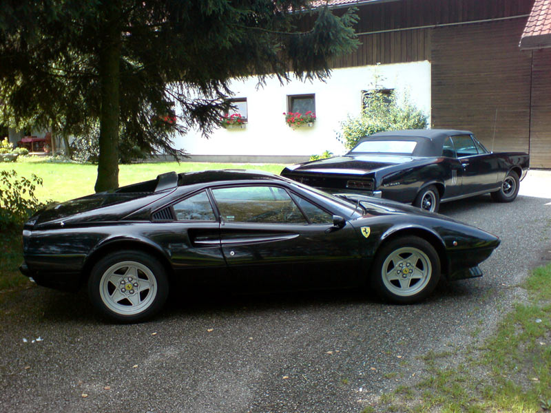 my 308 FERRARI+ 67 Pontiac GTO web