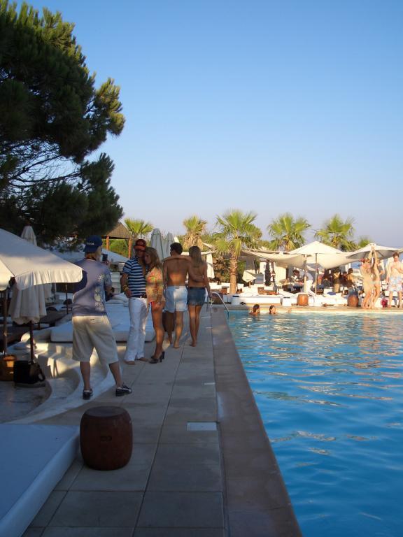 Beach Club Leben