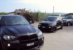 BMW sind eher selten anzutreffen.