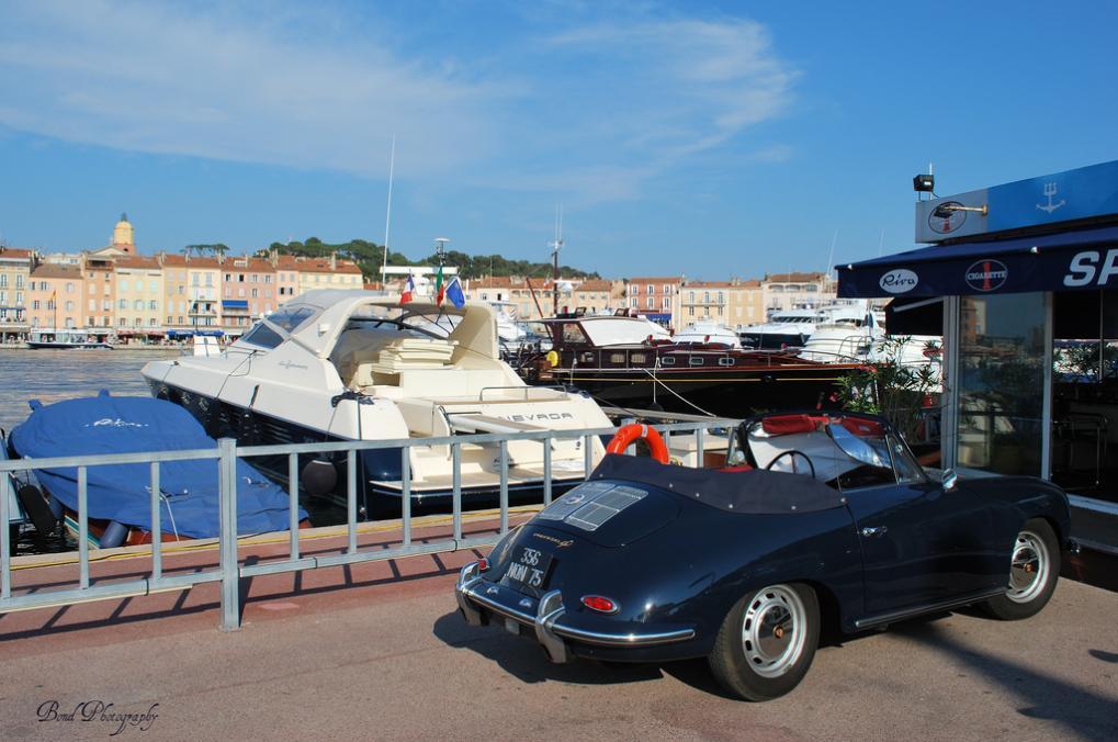 Old Style macht sich auch in St. Tropez gut.