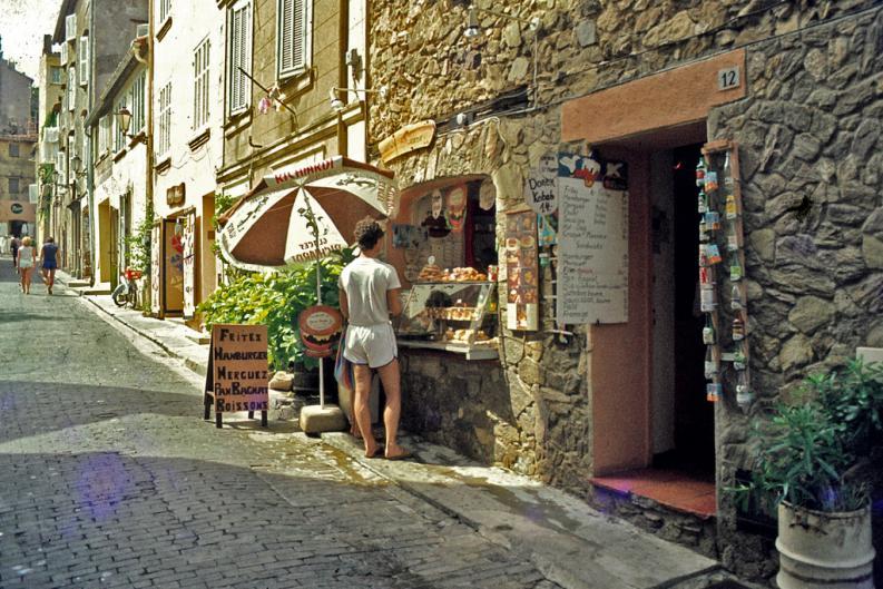 ...und es gibt auch die stillen verträumten Ecken in St. Tropez