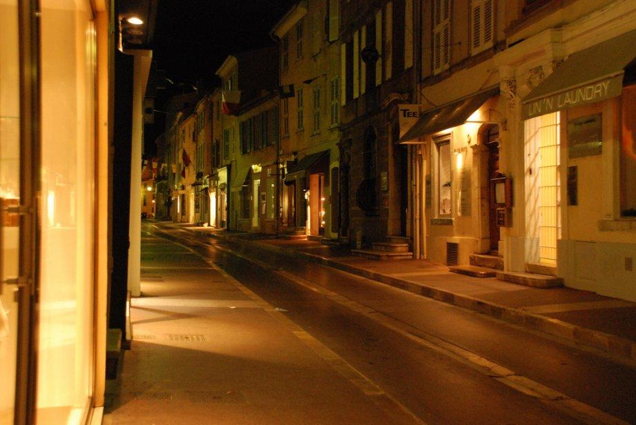 So verschlafen kann St. Tropez sein.