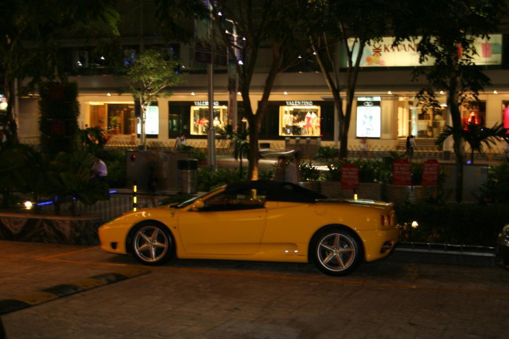 Autosichtungen in Singapore