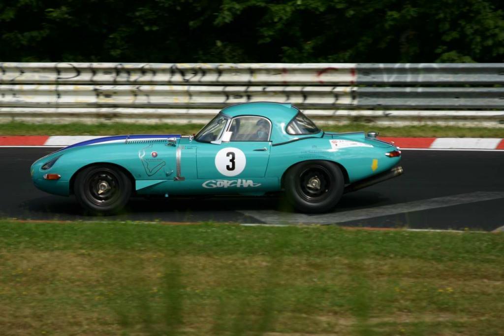 Jaguar E Type - Sieger Historic Marathon
