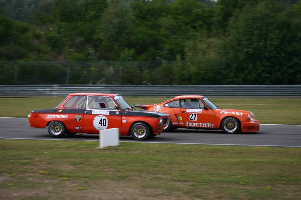 Jägermeister BMW 2002 und Porsche 934