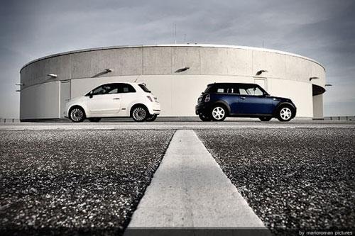 Fiat 500 - Mini Cooper