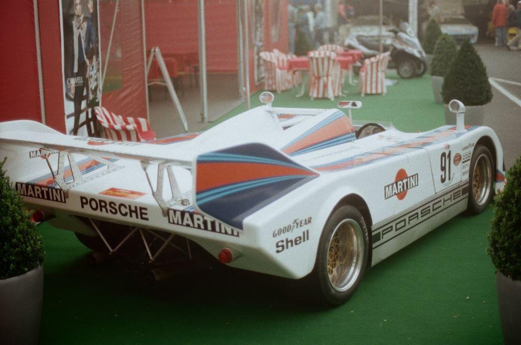 Porsche SK 002 von 1977, Teilnehmer am Rennen um den ORWELL SuperSports Cup
