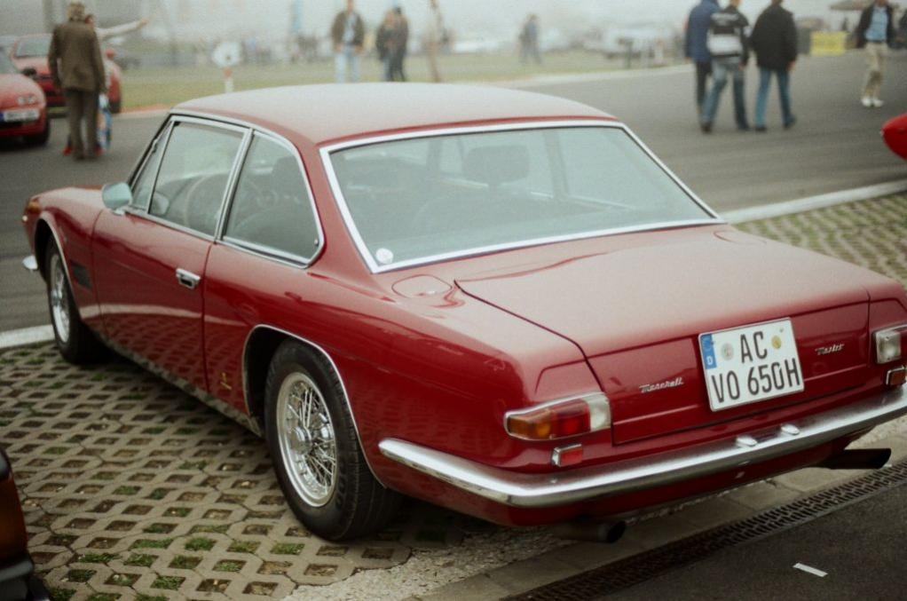 Maserati Mexico - dezent-elegantes Michelotti-Design