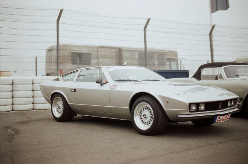 Ein ungewöhnlicher Maserati Khamsin.