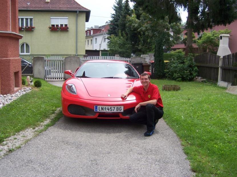 Ich und mein F430