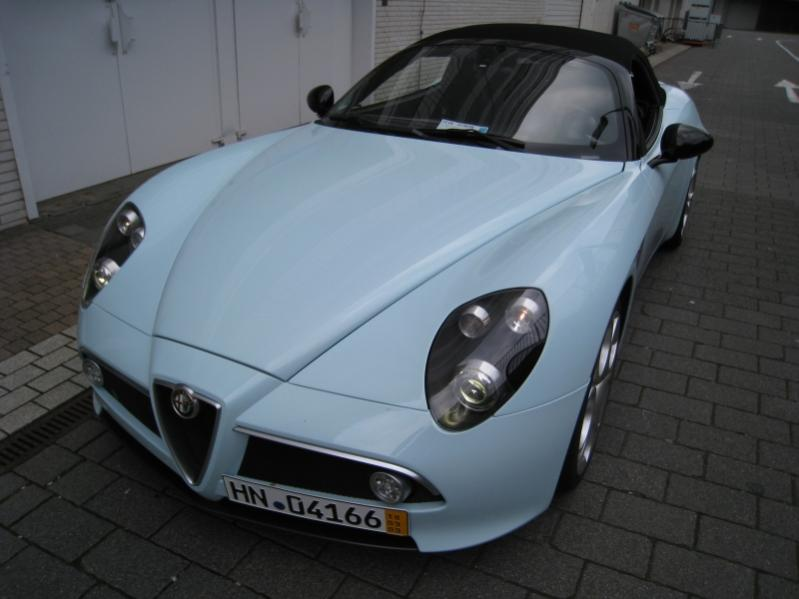 Alfa 8C Spyder