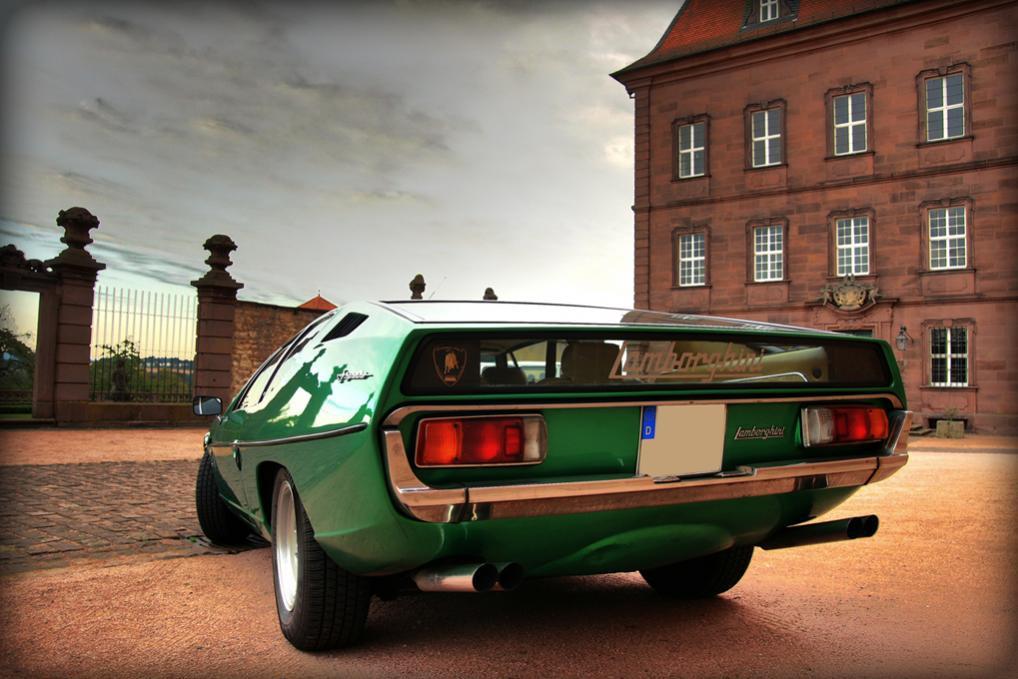 Lamborghini Espada back