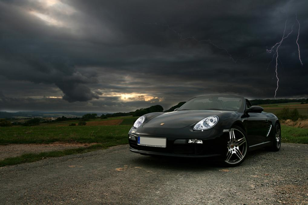 Porsche Boxster - THe Dark Night