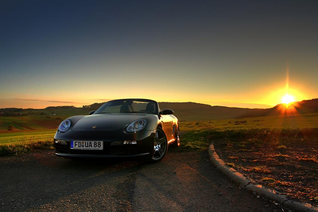Boxster Sunset
