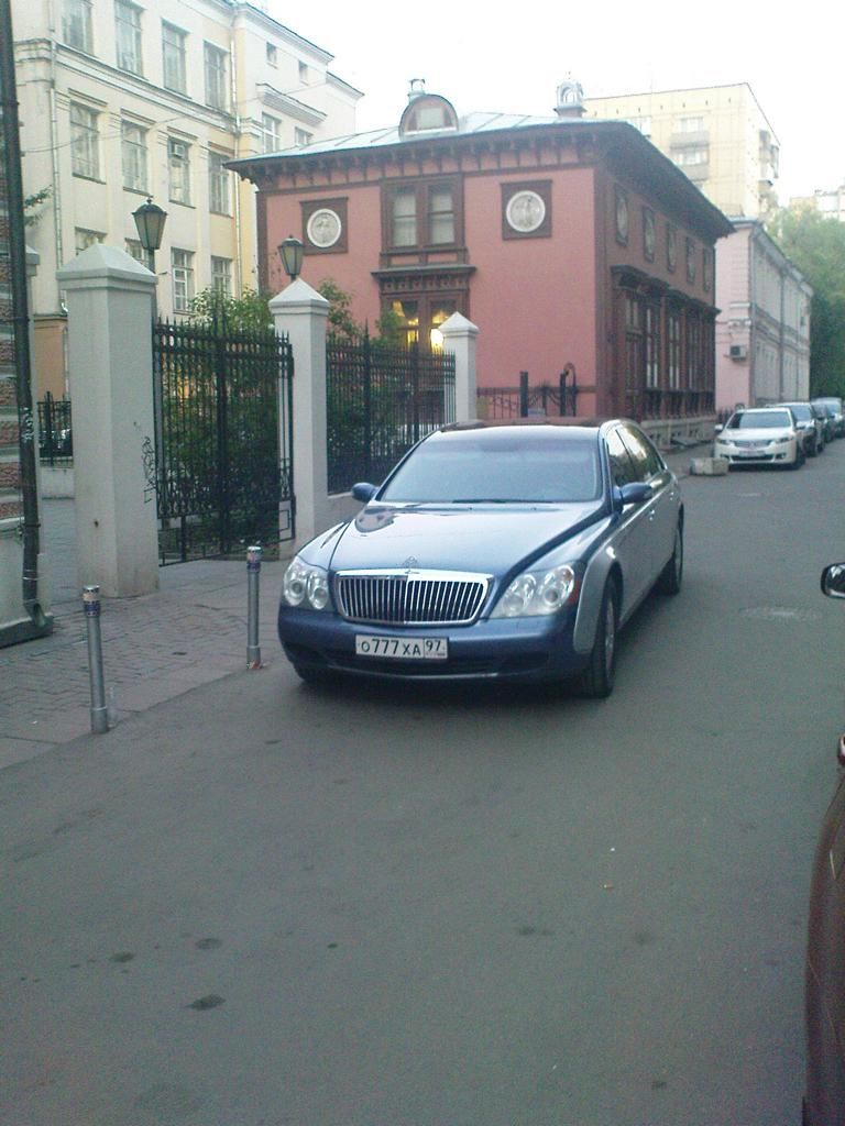 Maybach 62 in Moskau, Mai 2011