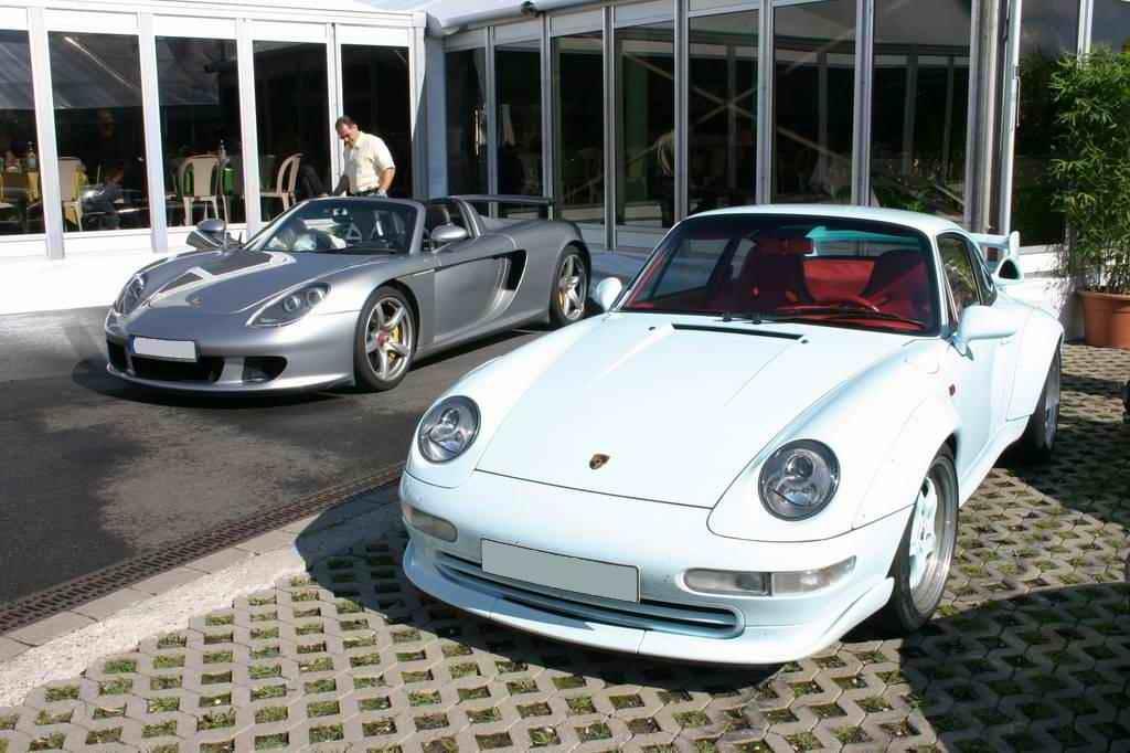 Porsche Carrera GT und 993 GT2 (OGP 2008)