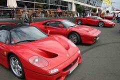 Ferrari F50, 288 GTO und Enzo (OGP 2008)