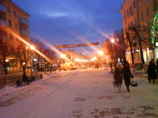 Winter in Tver, Dezember 2007