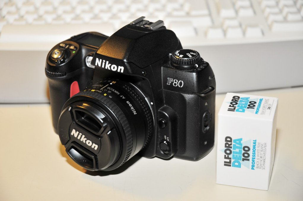 Nikon F80 Nikon Af 50m 1.8 D