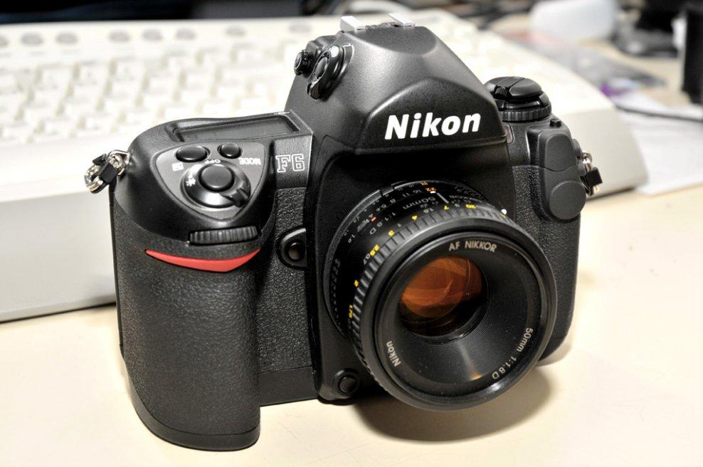 Nikon F6 Nikon Af 50m 1.8 D