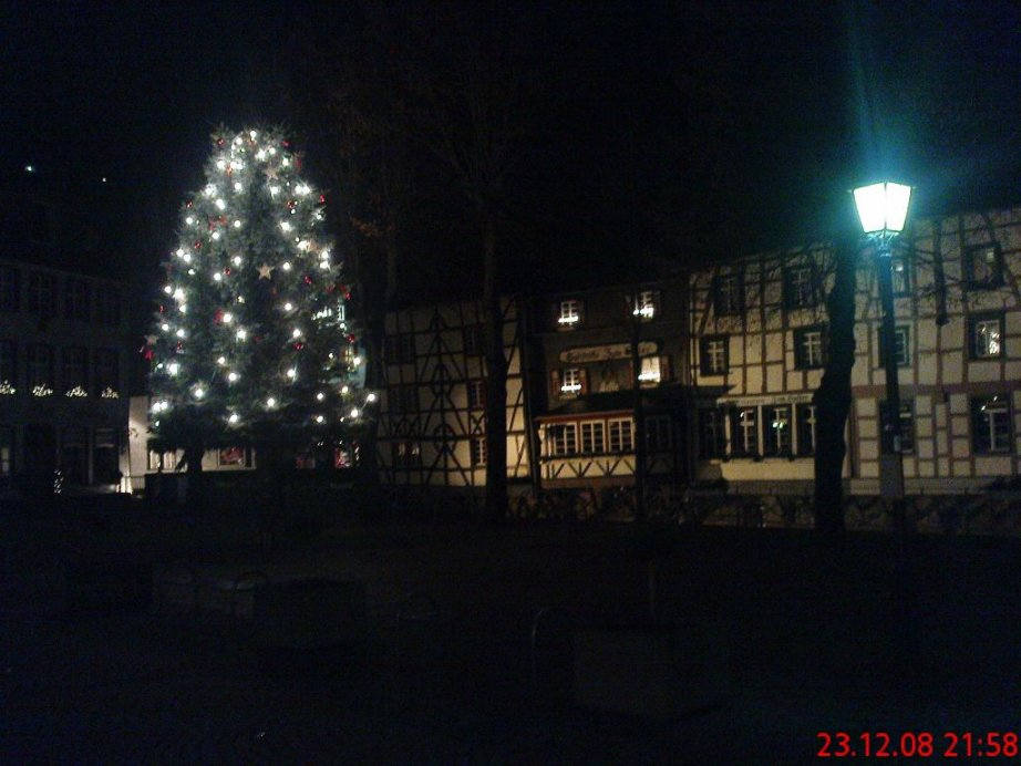 Vorweihnachtsstimmung in der Monschauer Altstadt