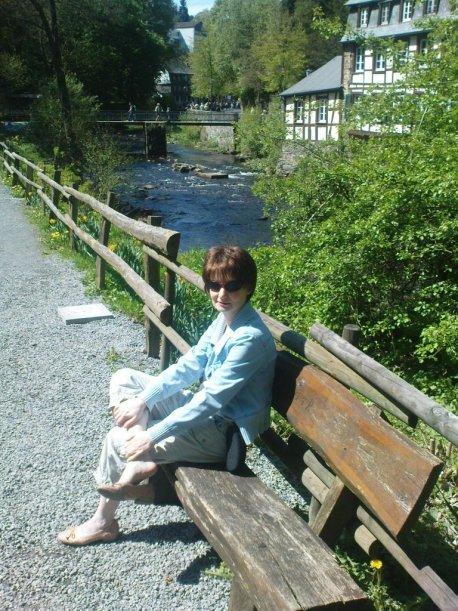 Im Monschauer Stadtpark, Mai 2009