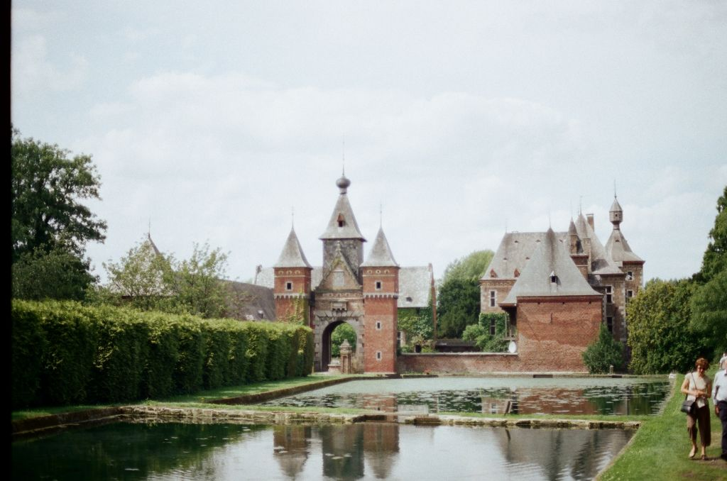 Schloss der Commanderie in St-Pieters-Voeren (Fouron St. Pierre)