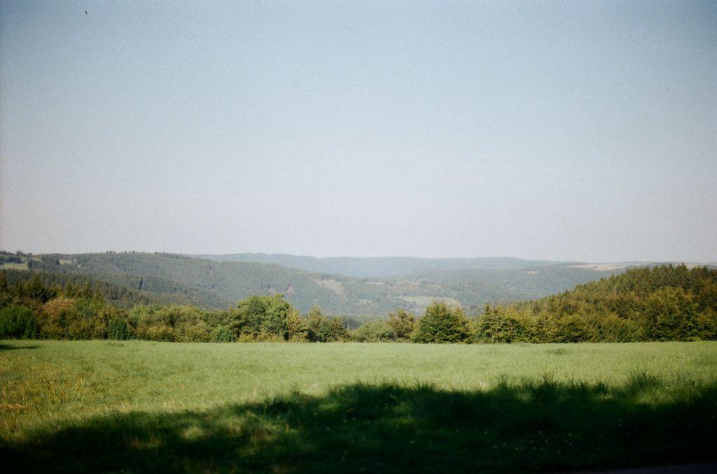 Blick aufs Tal zwischen Eicherscheid und Huppenbroich, Sommer 2009