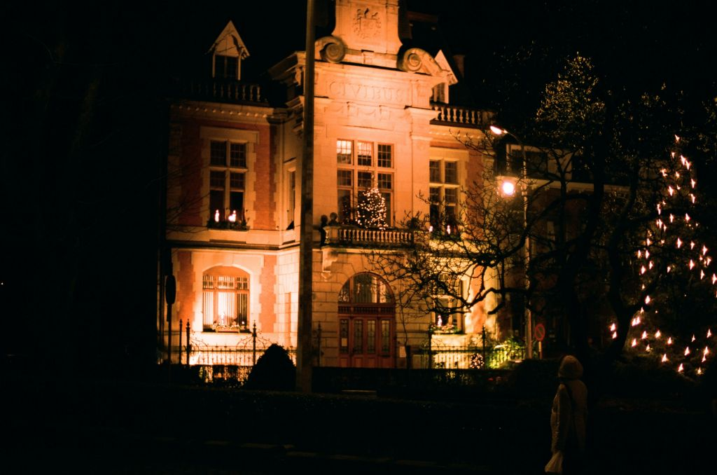 Das Rathaus von Malmedy, Baujahr 1900