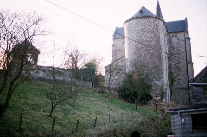 Château de Harzé in der Gemeinde Aywaille