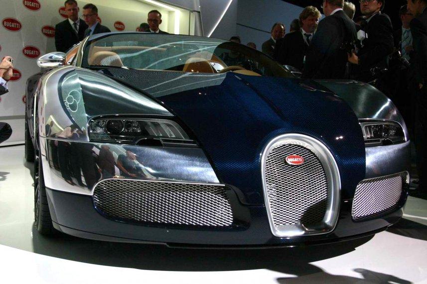 Bugatti Veyron Grand Sport Sang Bleu auf dem IAA Vorabendevent