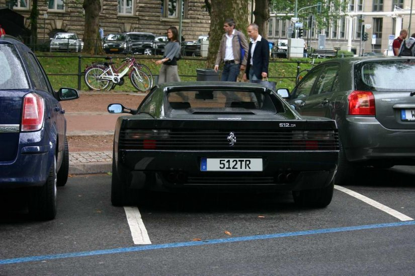 Ferrari 512TR in Düsseldorf