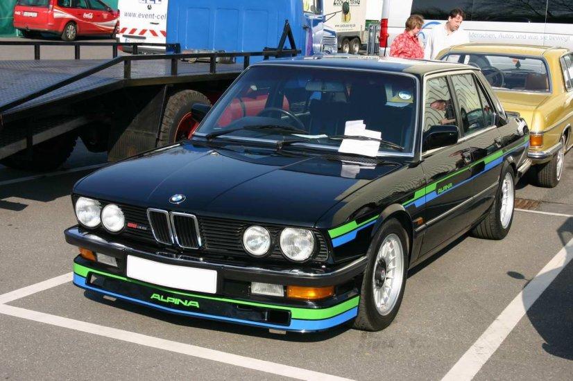 Alpina B9 3.5 auf der Techno Classica