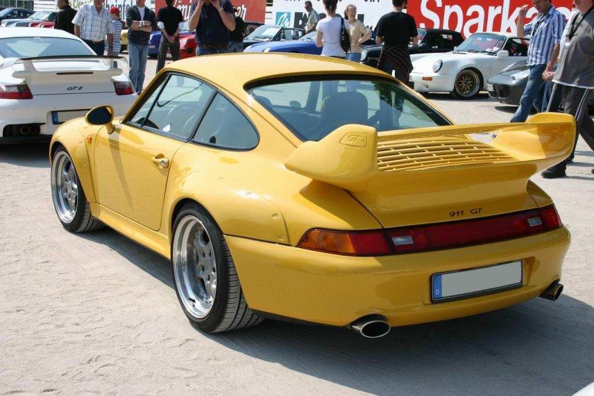 Porsche 993 GT2 in Dinslaken