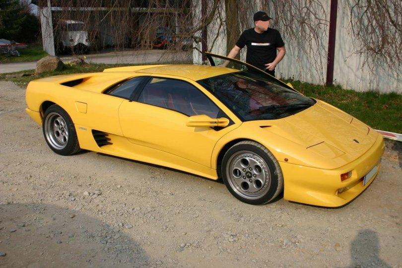 Lamborghini Diablo beim CP NRW Treffen