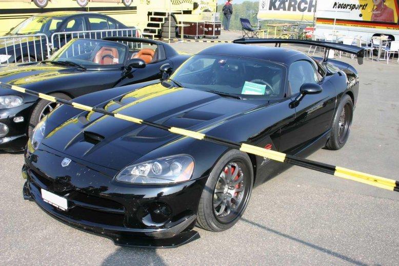 Dodge Viper SRT-10 ACR im Fahrerlager am Nürburgring