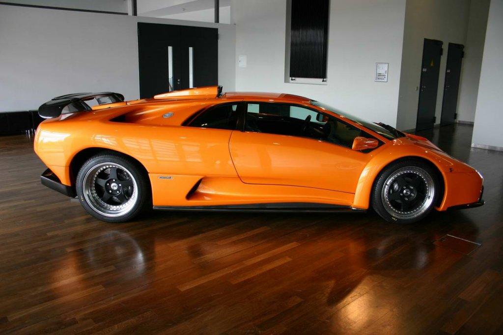 Lamborghini Diablo GT im ZeitHaus in der AutoStadt in Wolfsburg