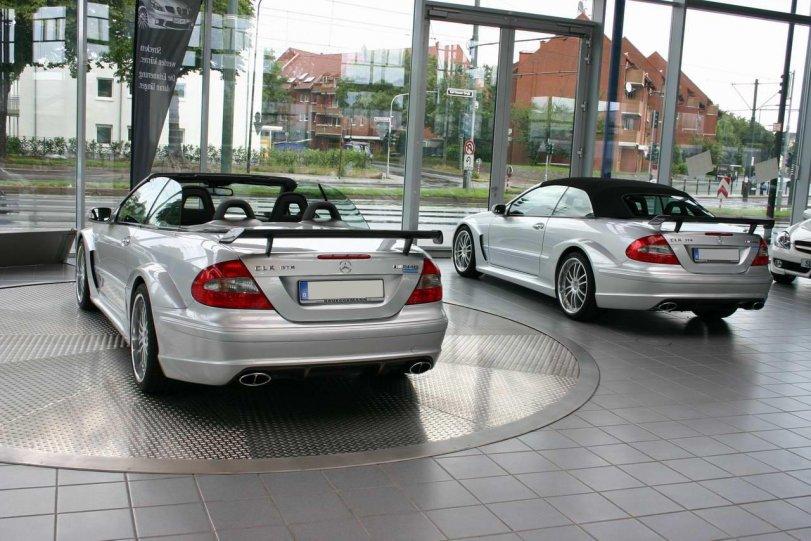 Mercedes-Benz CLK DTM Cabrio bei Brüggemann in Düsseldorf