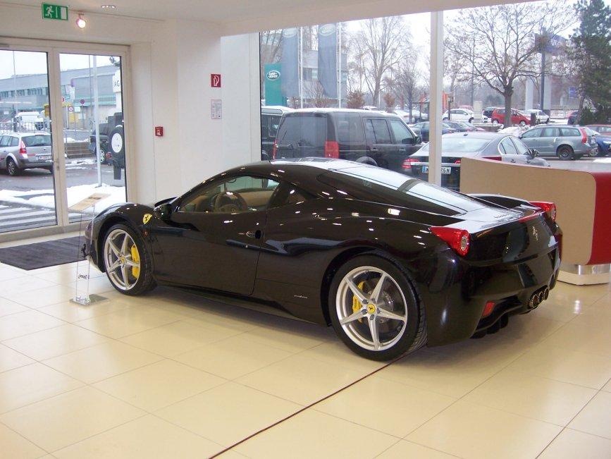 Bei Ferrari Denzel in Wien