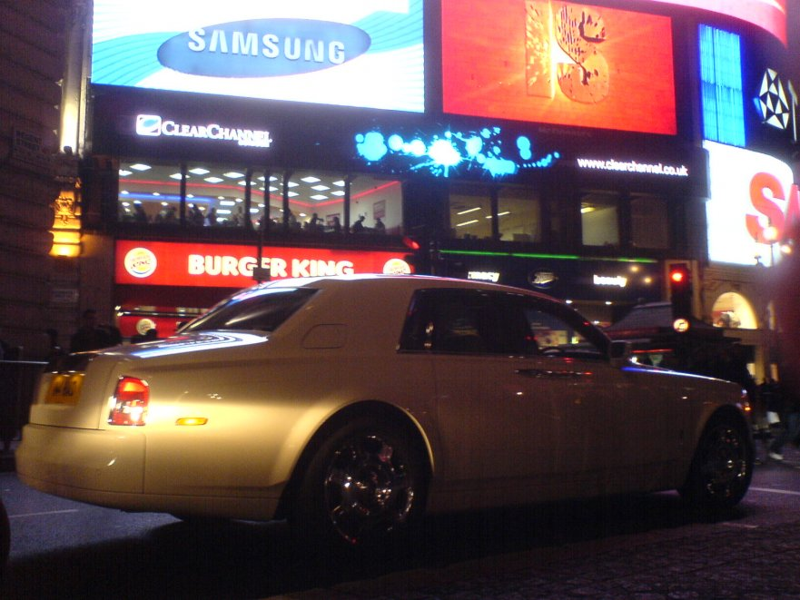 Phantom am piccadilly circus