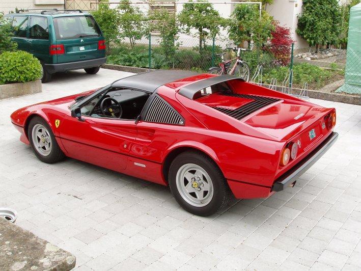 Mein 79er Ferrari 308 GTS.