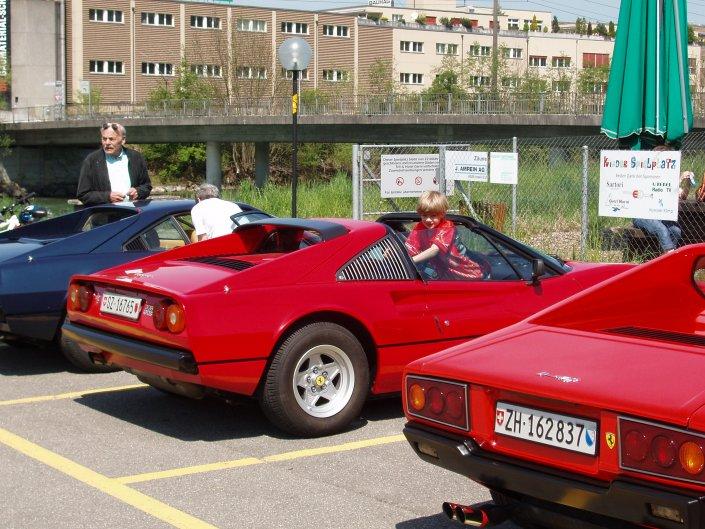 2008 Ferrari Club treffen.
